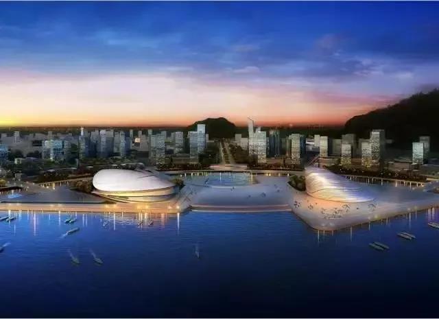 横琴南填海区围填海造地项目概念规划 飞速发展的横琴岛 未来珠海将