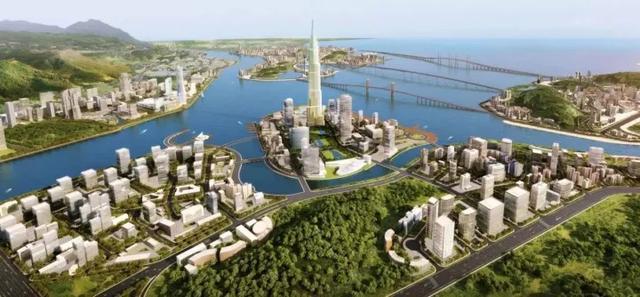 配套为王 流光溢彩十字湾将成珠海新中心 泰禾