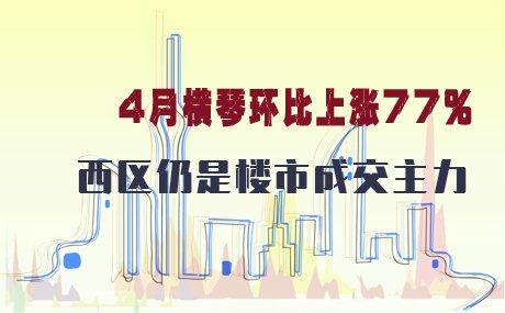 4月珠海一手房共成交2775套 横琴环比上涨77%