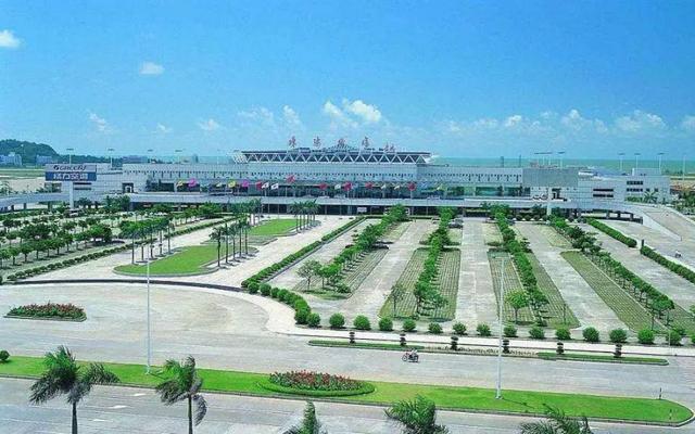 珠海机场内部平面图