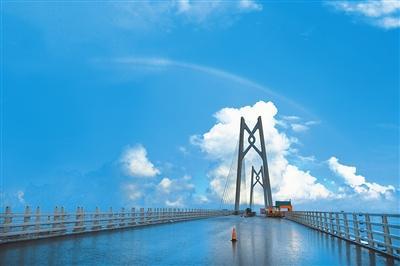 港珠澳大桥海底隧道7月7日举行贯通仪式 房产珠海站 腾讯网