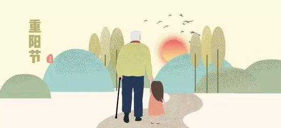 共度重阳,每一位龙城老人都是我们的家人