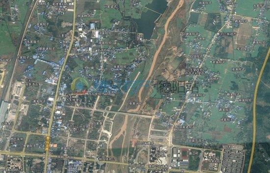 看了德阳旌东新区城市设计用地布局图我淡定不了!总裁办公室平面设计图片