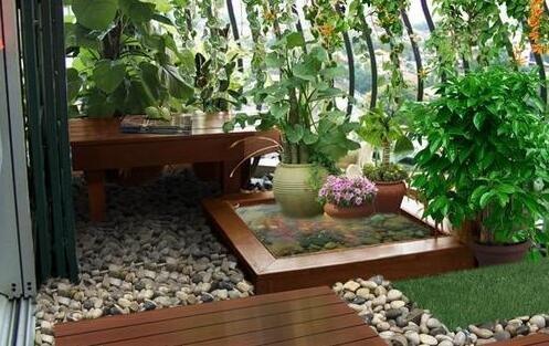 三房+洗衣房+中庭景观个都不少 金色明天如此设计97㎡