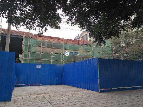 城北这个盘的售楼部正在修建 你们期不期待它什么时候开盘!