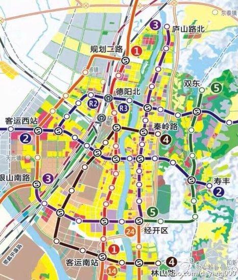 """探秘德阳未来轨道交通 磁悬浮+地铁与成都""""接轨"""""""