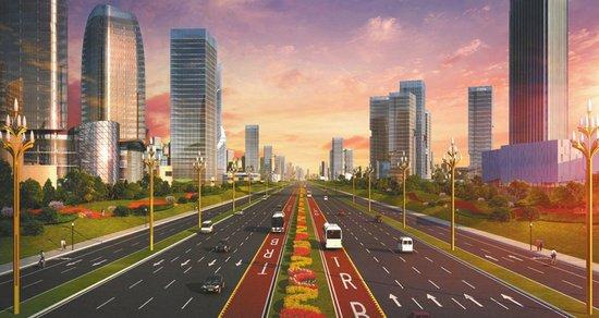成都天府大道北延线快速路 将于2019年建成
