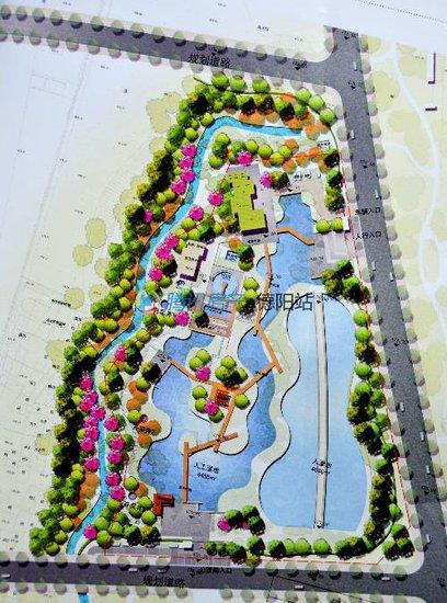 德阳旌南教程标准已抢先修建详细规划图开始看autocad2012公园湿地建筑设计中文版图片