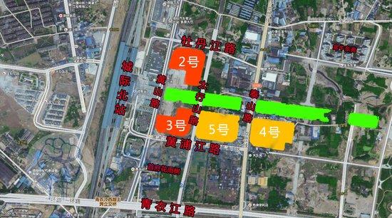 2017年底德阳抢地大战拉开序幕,城北4宗183亩住宅用地上市