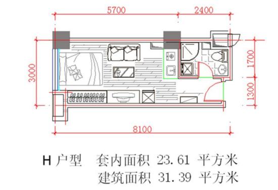德阳开发商常说的套内建筑面积和建筑面积 都