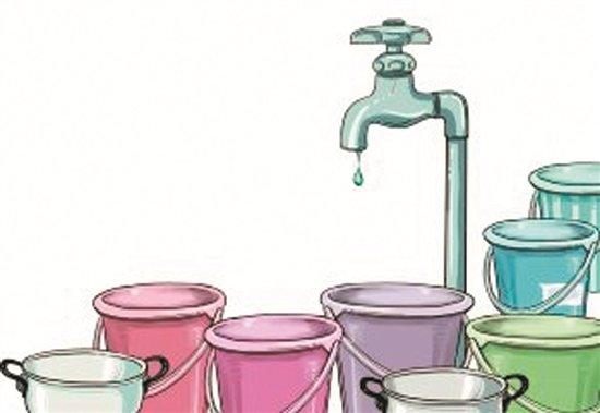 小区物业拖欠水费133万余元 致居民被停水图片