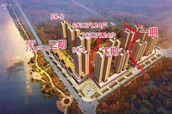 城南湖景房天悦湾最后3栋楼519套正临湖房源,猜价格