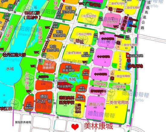 黄河片区魅力值再加码,美林康城·铂悦府斜对面一排学校