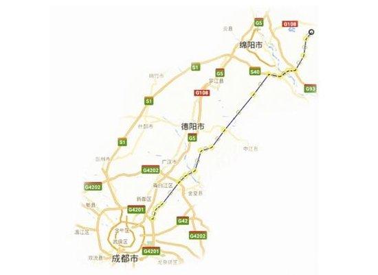 资阳市最新道路规划图