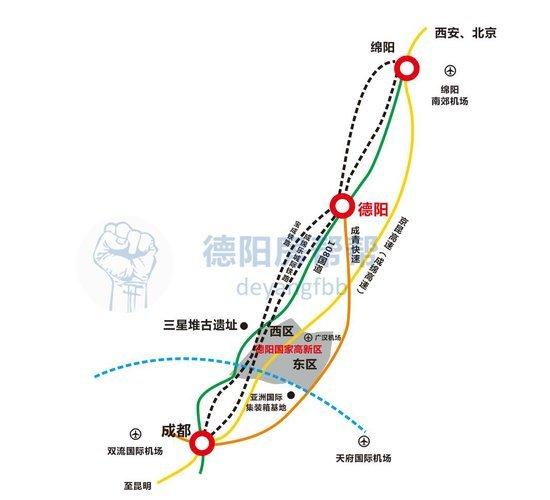 德阳高新区最新规划宣传大片出炉,太高大上了啊!
