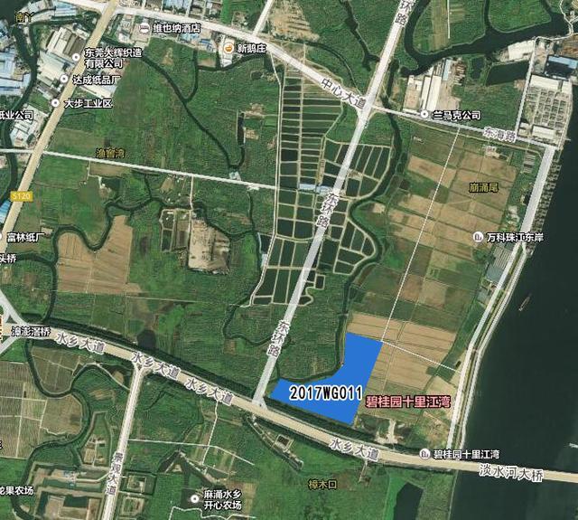 10月东莞土拍大幕拉开 水乡片区两商住地将挂牌出让
