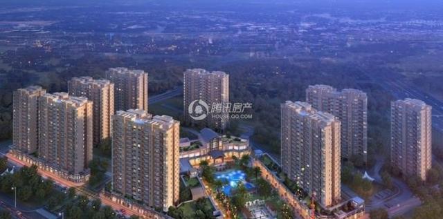 碧桂园 鼎峰城市公园  生长在森林公园里的洋房