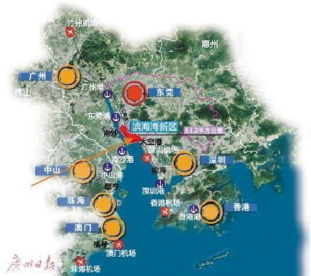 [ 摘要]根据规划,滨海湾新区以粤港澳大湾区协同发展和引领东莞未来