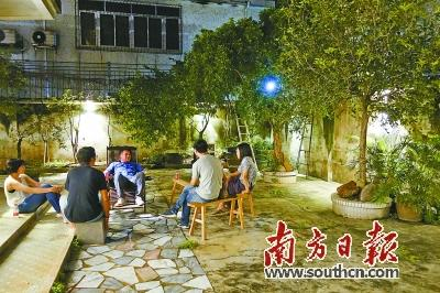 """东莞民间发起""""逗留计划"""" 在城中村打造文艺共享空间"""