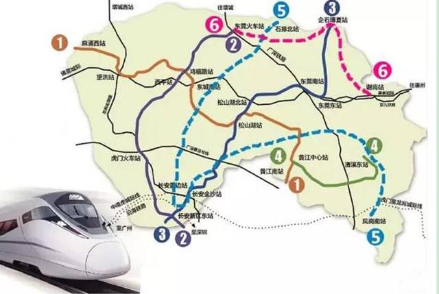 东莞常平地铁线路图图片