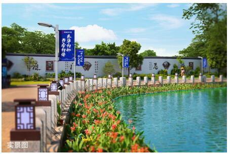 碧桂园映月台:湖居中式庭院别墅,松山湖的江南小院图片