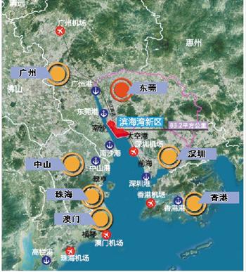 滨海湾新区填海项目动工