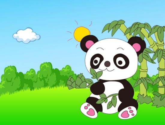 """黄石恒大帝景可爱""""萌神""""28米超长熊猫王国滚滚而来"""