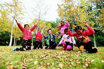 天新花园精心打造的儿童乐园给孩子一个美好的童年