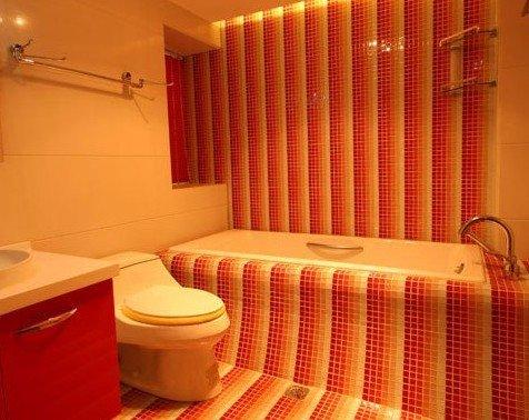马赛克打造超炫卫浴间