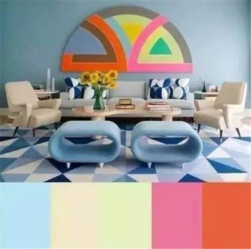 软装搭配十大色彩定律 你知道几个?