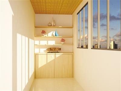 家装攻略:阳台墙面用处多图片