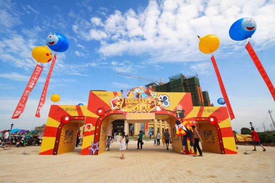 航宇·罗马假日营销中心盛大开放 国际马戏嘉年华欢乐启幕