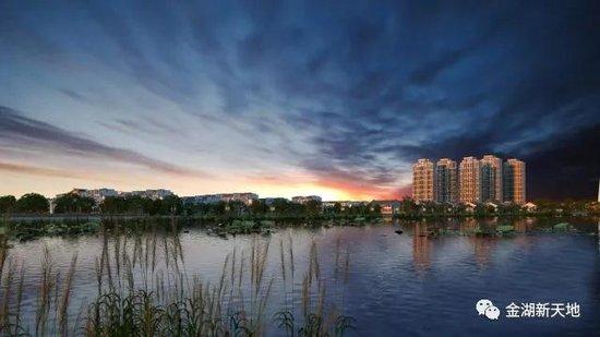金湖新天地带给你如纪念碑谷一样的极简主义建筑风格