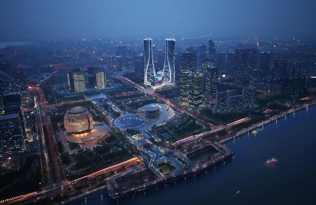 """每一个国际大都市 都有一座专属的地标""""双子塔"""""""