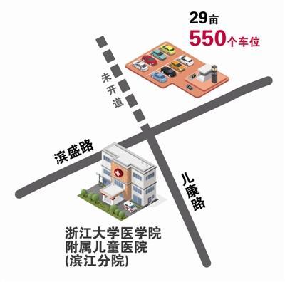 杭州多个主要医院停车难题有望缓解