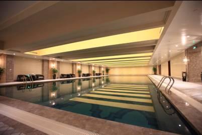 在品质生活清单上 会客空间、恒温泳池岂能缺席
