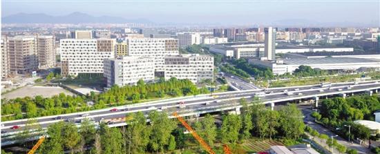 """钱塘智慧城 杭州东部崛起一座""""智造之城"""""""