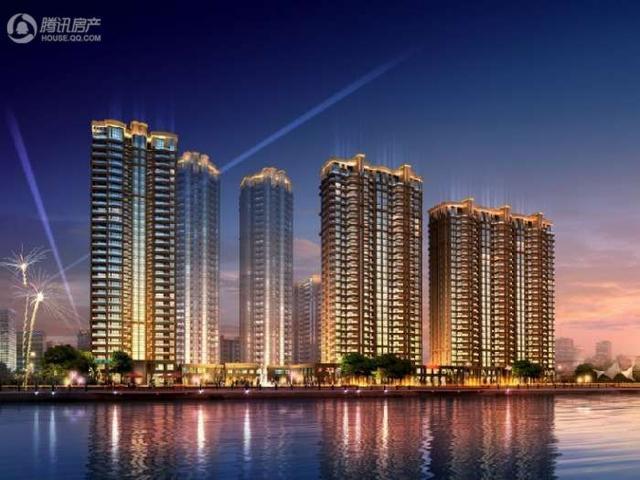 小高层新古典主义建筑 百川·润城仅剩少量房源