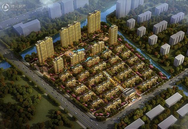 黄岩京都悦府预计4月中下旬推出高层8#楼和二期叠墅