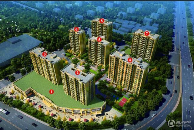 路桥碧桂园城市之光已于3月30日开盘 首推2#楼和3#楼