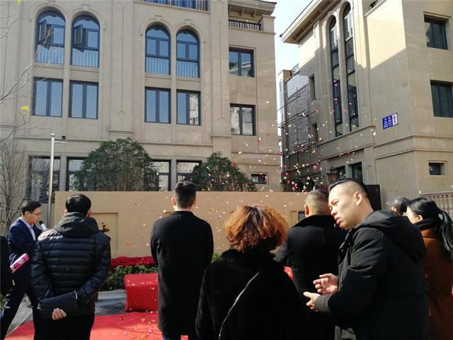 黄岩大生名府售楼处华丽开放红红火火迎新年