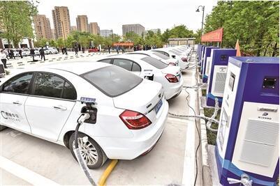 杭城最大新能源停车场来了
