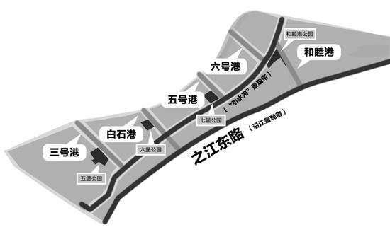 钱江新城2.0主打生态牌 沿江景观带上可跑马拉松