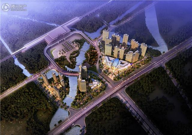 温岭华董广场预计4月份推出住宅1#楼、2#楼、4#楼