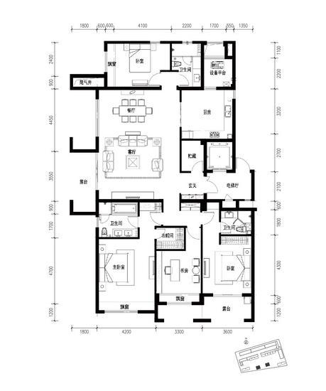 墅级尺度宽以待人 富力十号191方筑就改善大境
