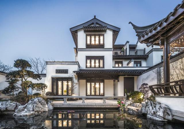 东钱湖畔第11景 东方生活美学馆之上见中国府院真章