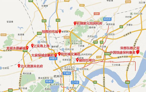 杭州2月开盘网签去化率:3个楼盘去化率超9成