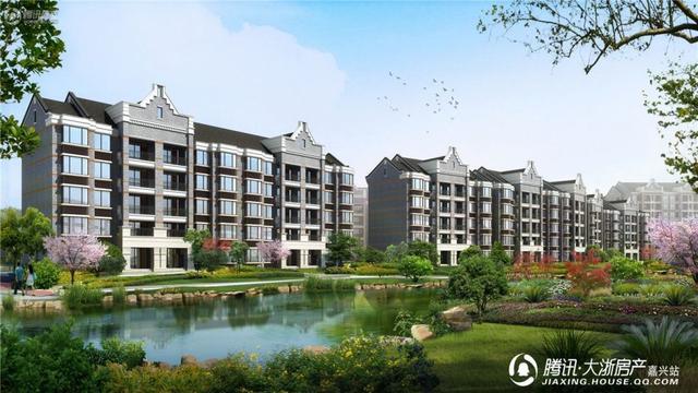 恒大香湖左岸别墅洋房在售中楼盘别墅乾县图片