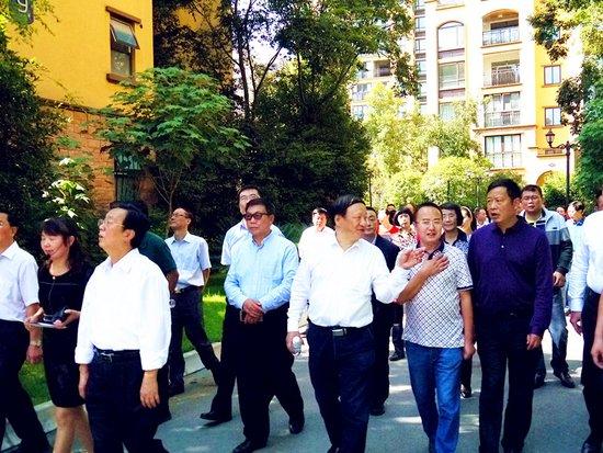 """陕西省人大""""一法两条例""""执法检查组莅临金色蓝镇"""