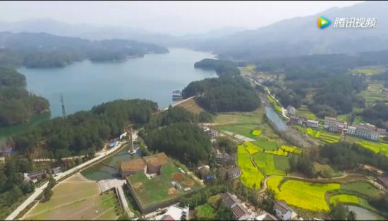 汉中再添一国家3A级旅游风景区——红寺湖风景区